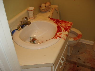 Gruesome Crime Scene Photos